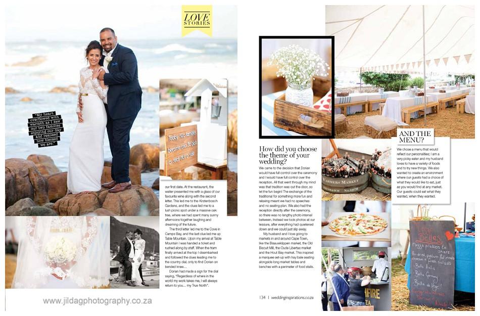 Wedding Magazine Feature Jilda G