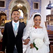 Tania & Jose Angola wedding
