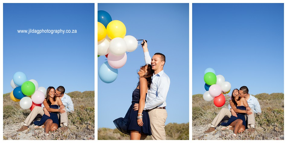 Sunset - engagement - beach - shoot - Jilda G Photography - Cape Town (2)