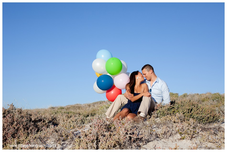 Sunset - engagement - beach - shoot - Jilda G Photography - Cape Town (3)