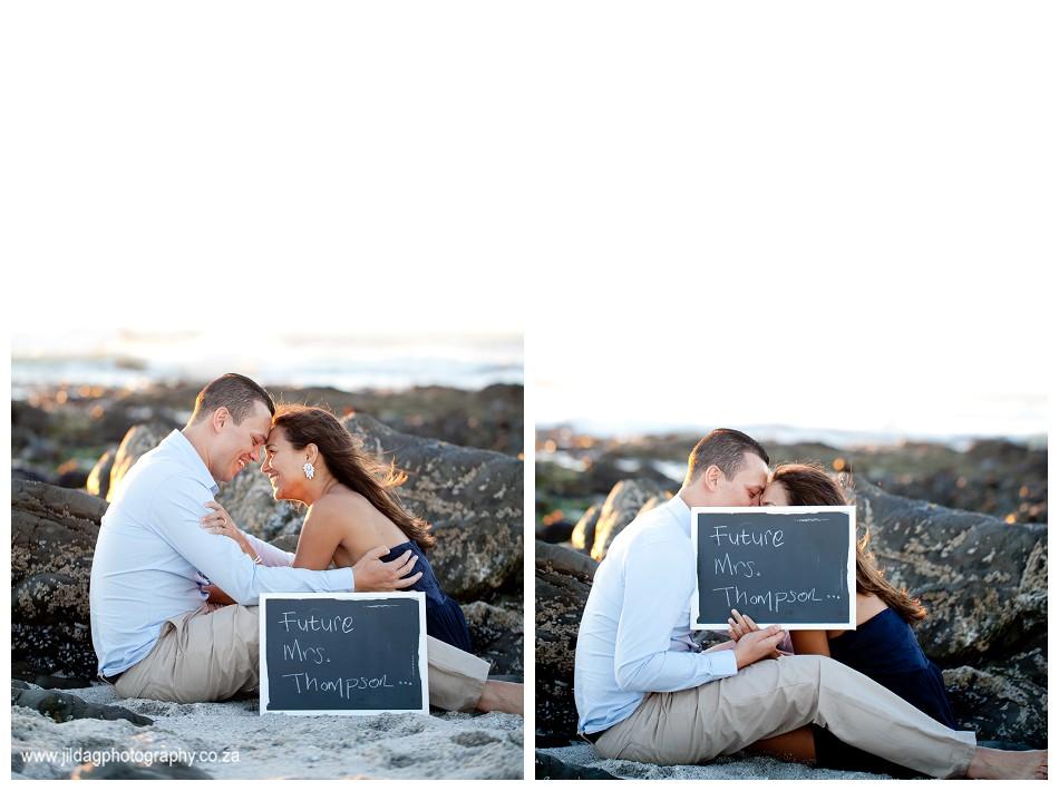 Sunset - engagement - beach - shoot - Jilda G Photography - Cape Town (30)