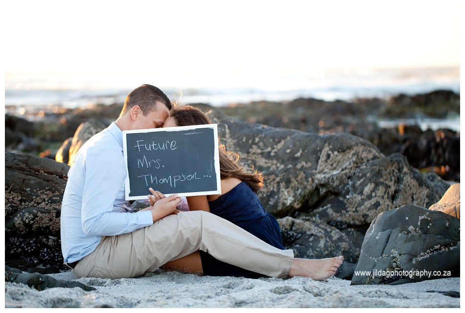 Sunset - engagement - beach - shoot - Jilda G Photography - Cape Town (31)