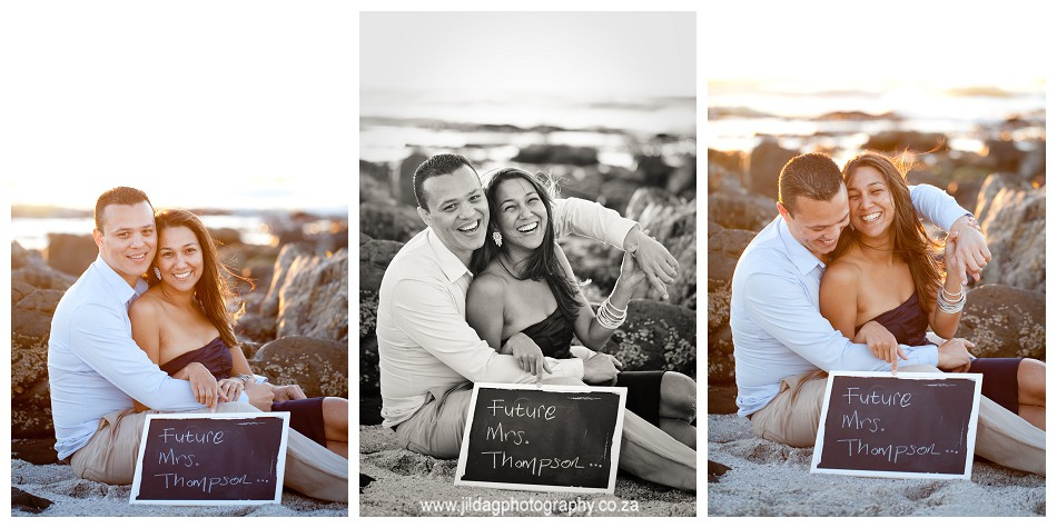 Sunset - engagement - beach - shoot - Jilda G Photography - Cape Town (32)